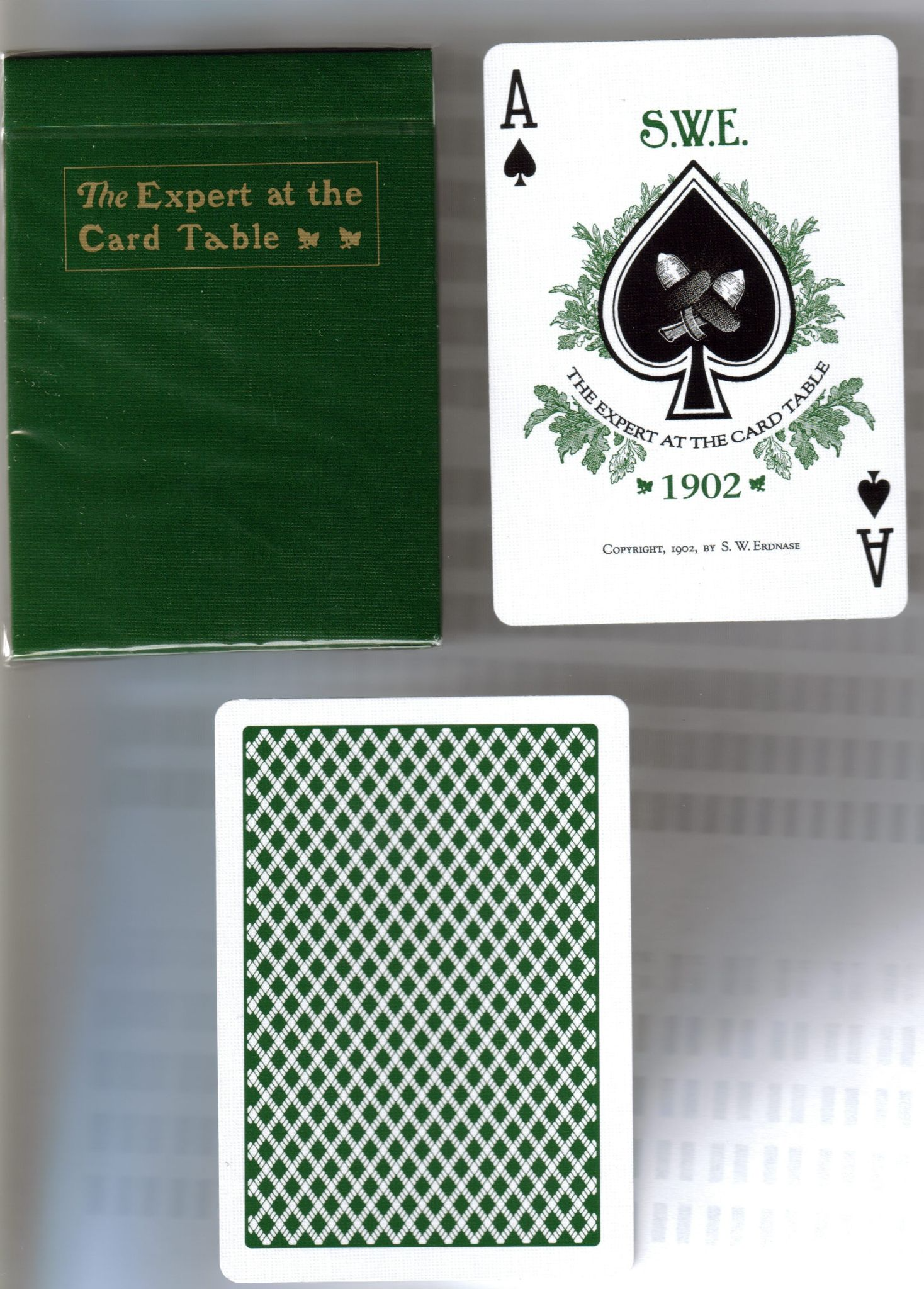 Expert at the Card Table VERSION 1 Playing Cards